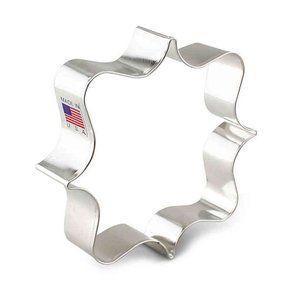 "4"" Ornate Square Plaque - Ann Clark Cookie Cutter"